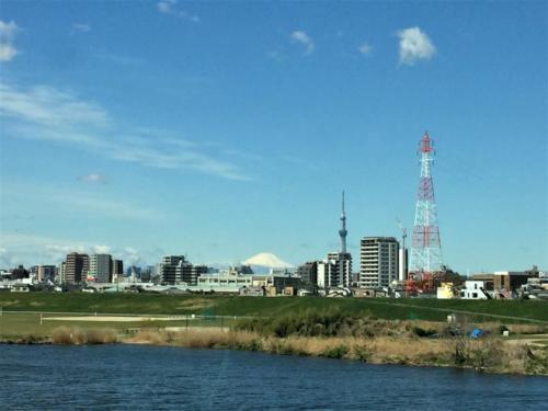 富士山と2